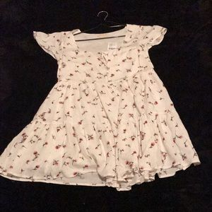 UO tiered baby doll dress